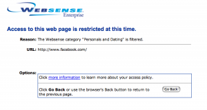 Websense_blocking_Facebook